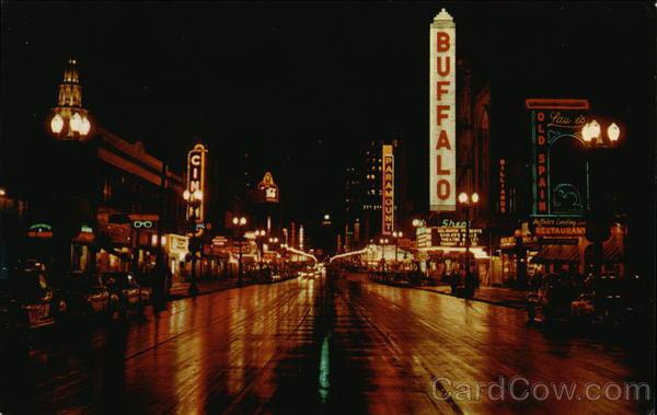 Main Street Buffalo, NY