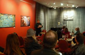Poetry Reading at Pausa Art House Photo by Paula Sciuk (C) 2014